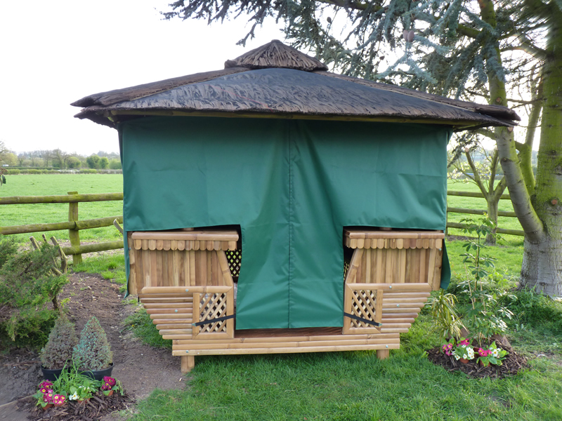 Square Bamboo Gazebos By Protech Direct